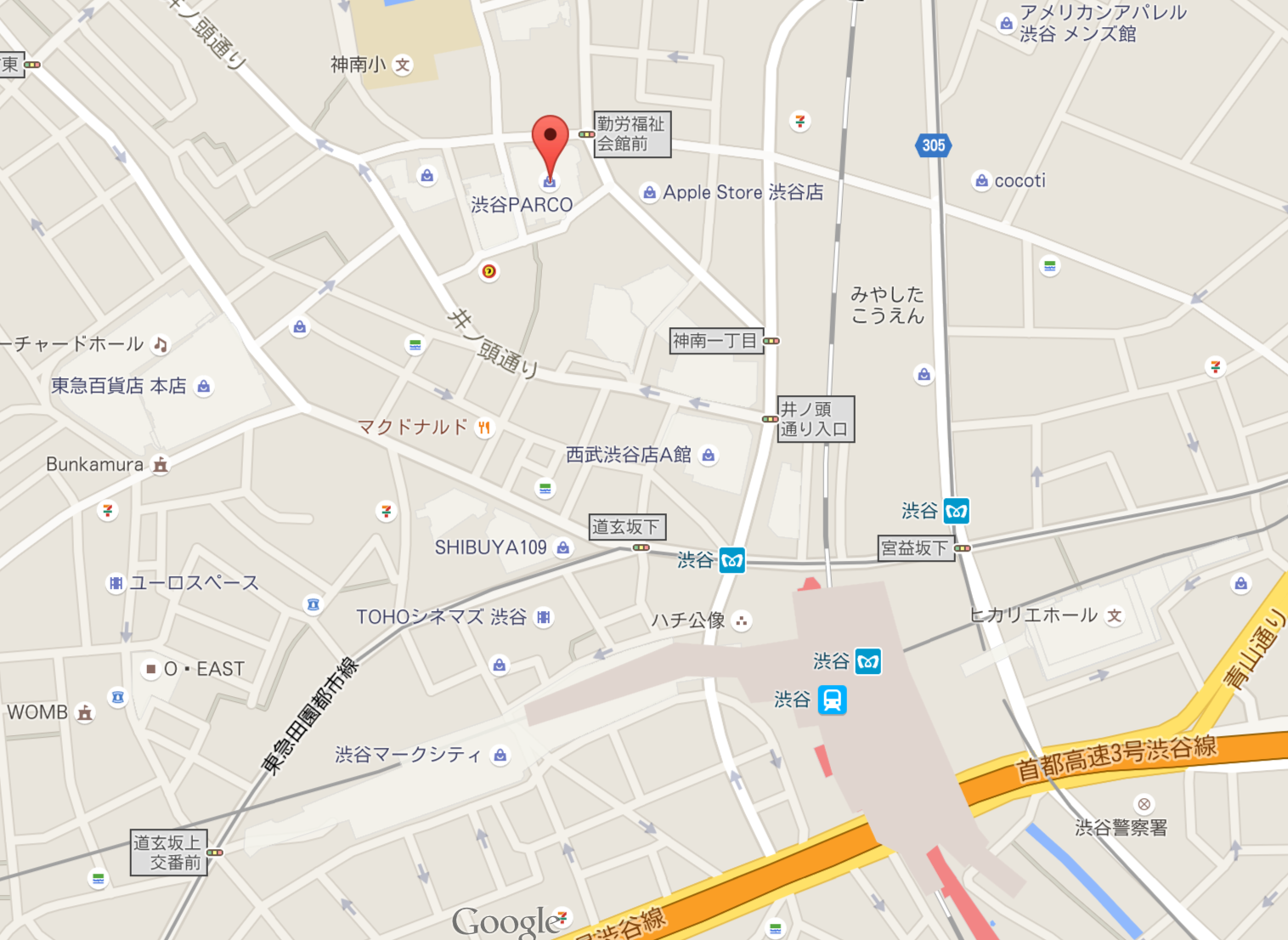 (出典:Google map)