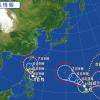 台風11号2015進路を米軍情報から予想!9号10号と共にトリプル上陸か