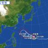 【2015】台風13号進路を予想!米軍や気象庁の最新情報を随時更新