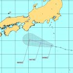 【2015】台風14号のたまご熱帯低気圧の進路を米軍最新情報から予想