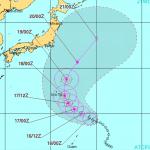 【2015】台風20号進路を予想!米軍や気象庁の最新情報を随時更新